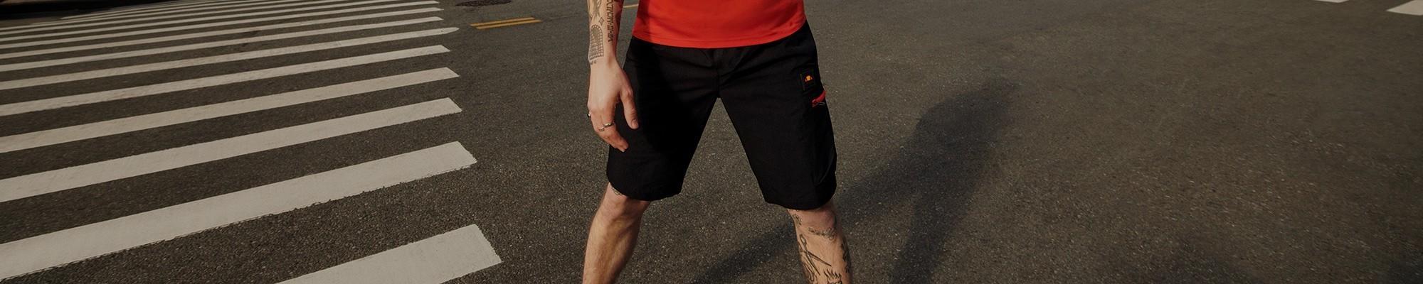 Pantalones cortos de deporte hombre Ellesse