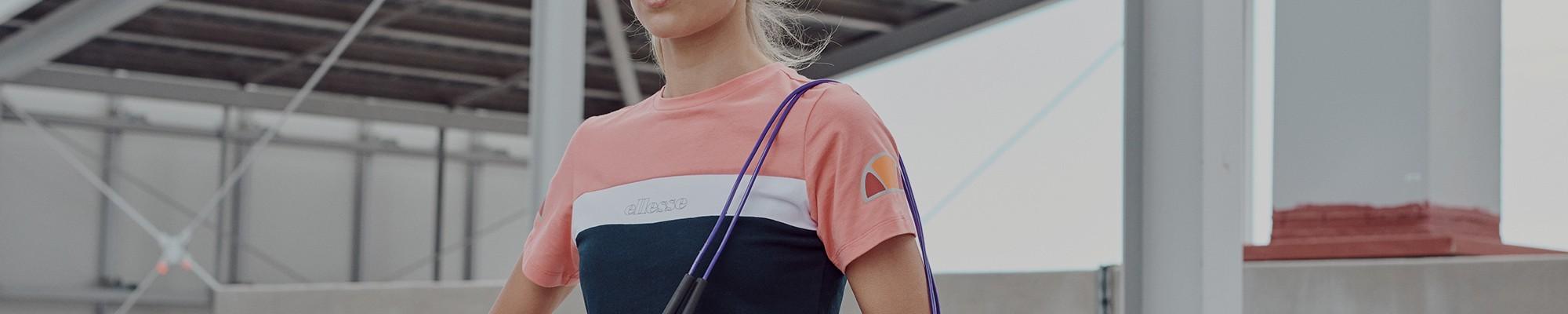 Camisetas deportivas de manga corta para mujer Ellesse