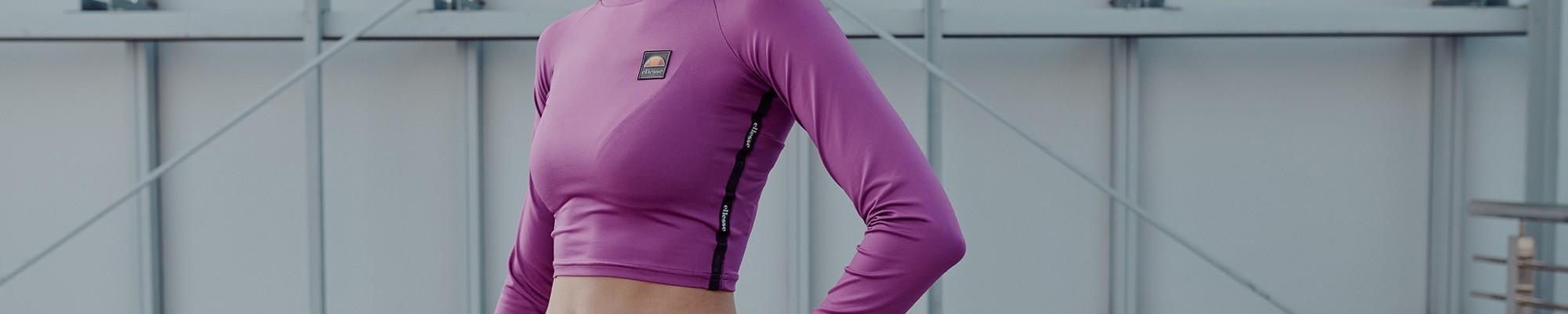 Camisetas deportivas de manga larga para mujer Ellesse